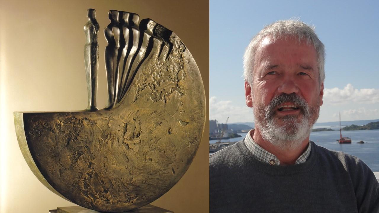 Skulptur: Joachim Berthold, Diskos 1985. -  Karl Fordemann