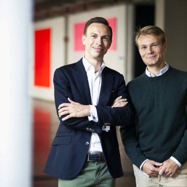 Mentor and TUM Alumnus Dr. Dominik von Au, Mentee Moritz Kagerer