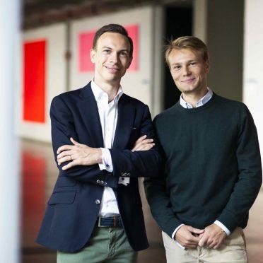 Mentoring Tandem Mentor Dr. Dominik von Au und Mentee Moritz Kagerer