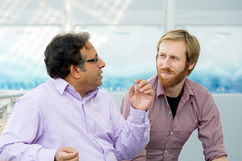Mentor Prof. Amaresh Chakrabarti and Mentee Dipl. Ing. Paul Bockelmann