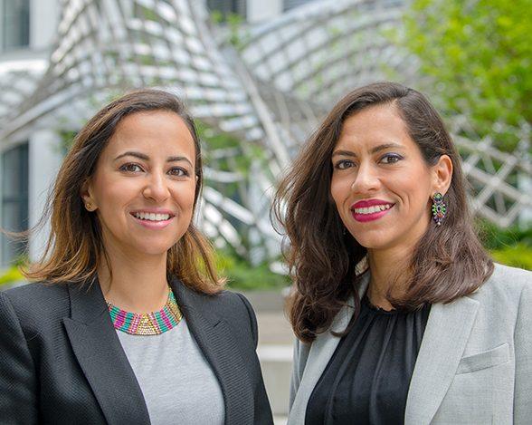 TUM Alumni Yasemine und Heba Aguib