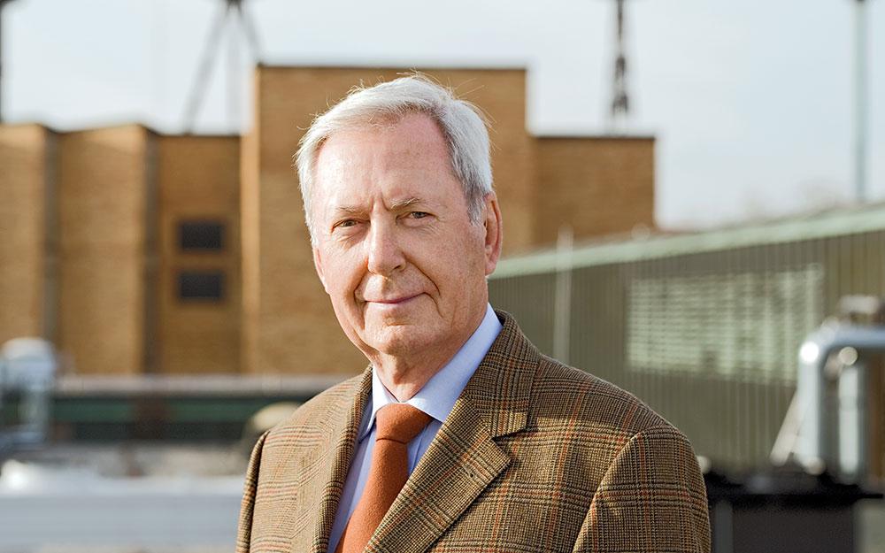 Porträtaufnahme von TUM Alumnus Hanns Weidinger