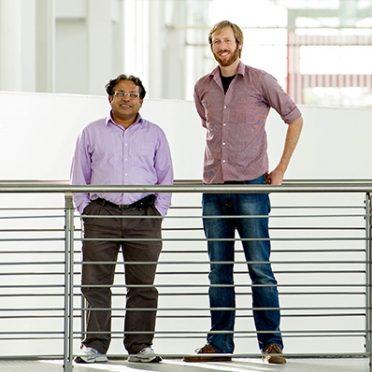 TUM Ambassador Amaresh Chakrabarti, TUM Mentoring for Scientists, Mentee Paul Bockelmann