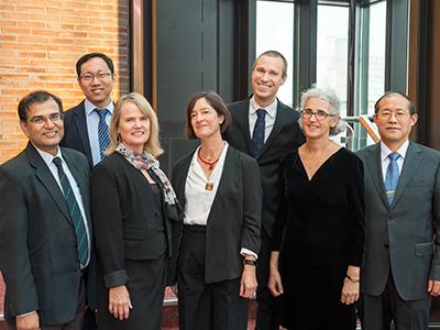 Gruppenbild der TUM Ambassadors.