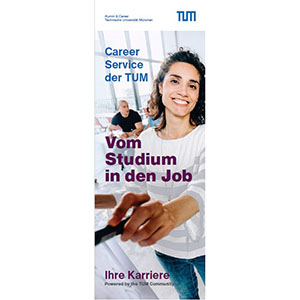 Cover des Career-Flyer.