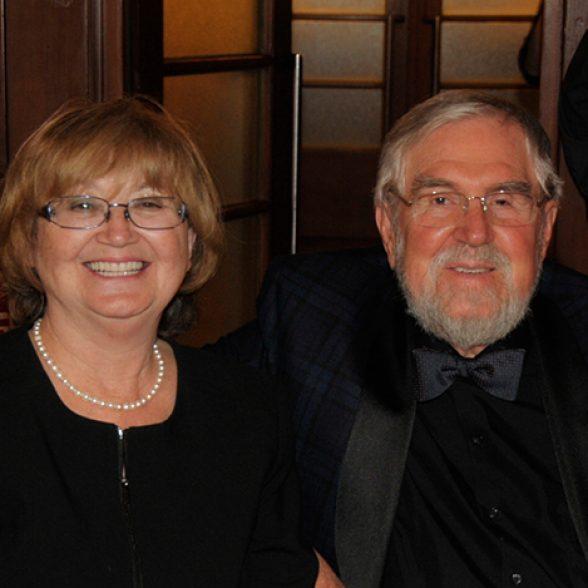 Professor Carl-Dieter Rau and wife.