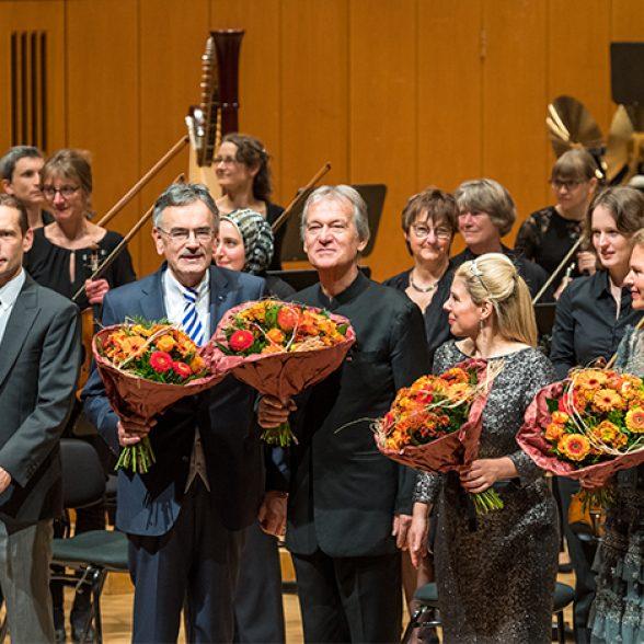 Felix Mayer, Wolfgang A. Herrmann, Hansjörg Schellenberger, Ute Ziemer and Sylvia Dankesreiter (l.t.r.,)