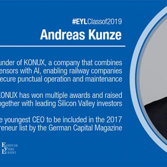 TUM Alumnus Andreas Kunze.
