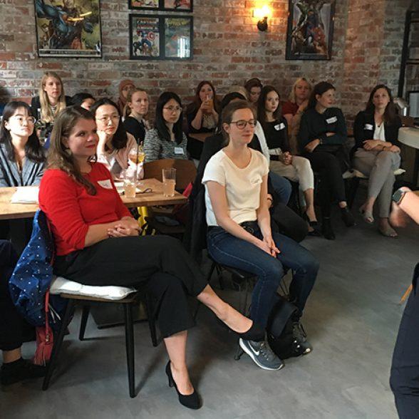 Women of TUM Afterwork with TUM Alumna Jana Knode