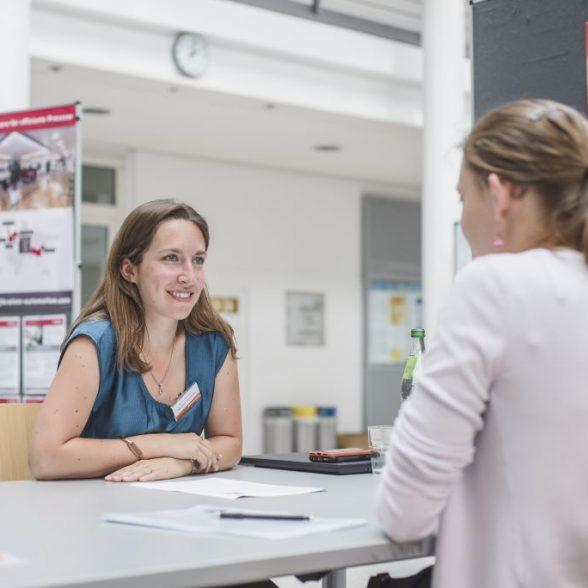 Speed Dating mit Unternehmen an den Career Days 2019