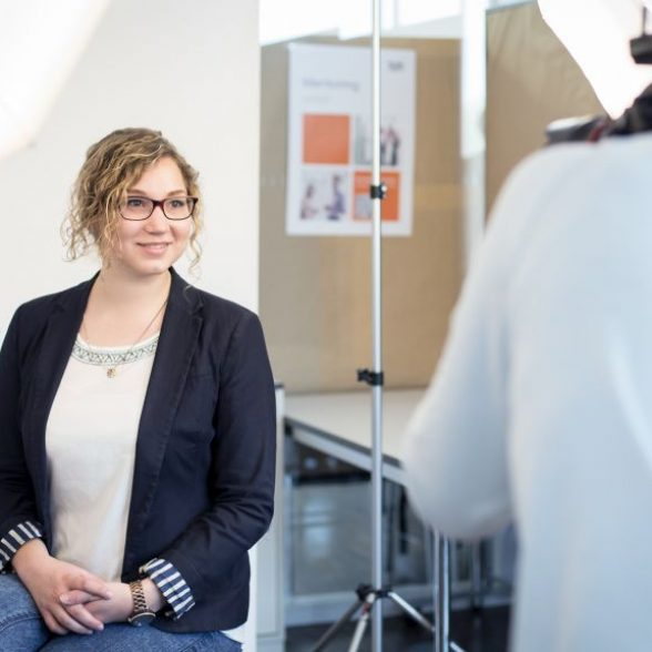 Application Photo Event at the TUM Career Days