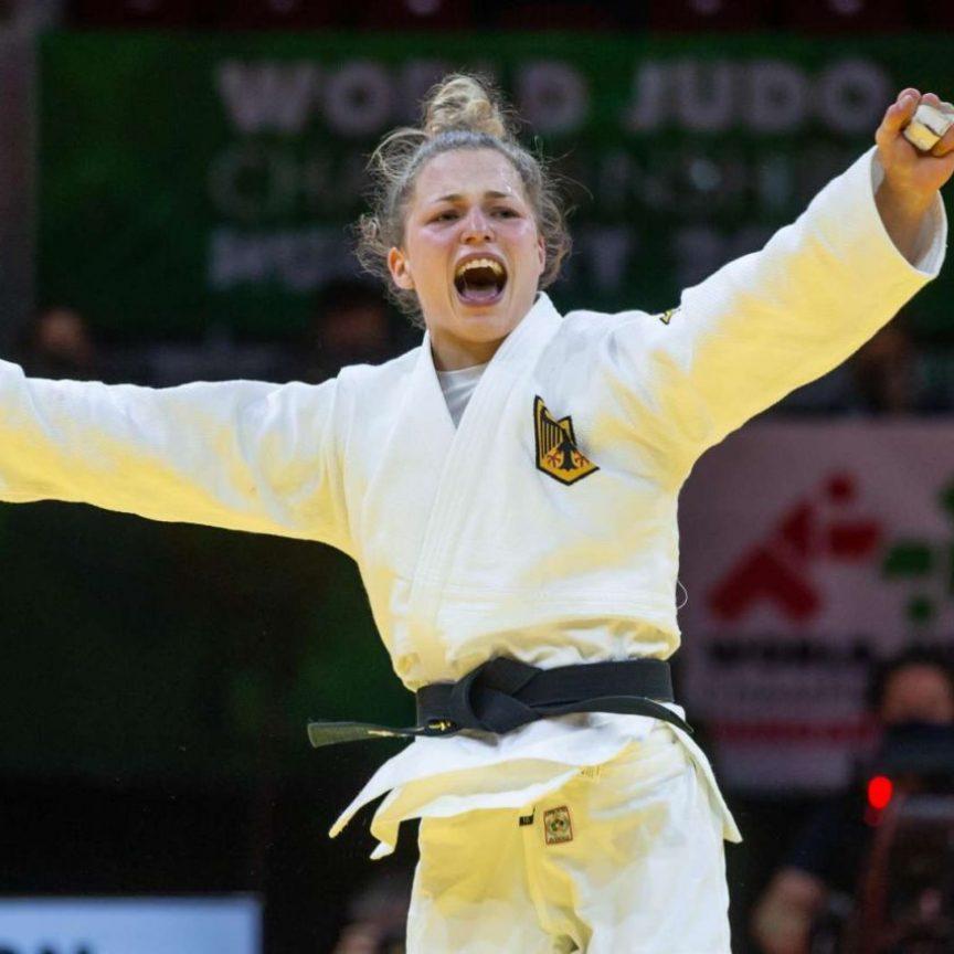 TUM Studentin und Olympia Bronze Medaillengewinnerin Theresa Stoll
