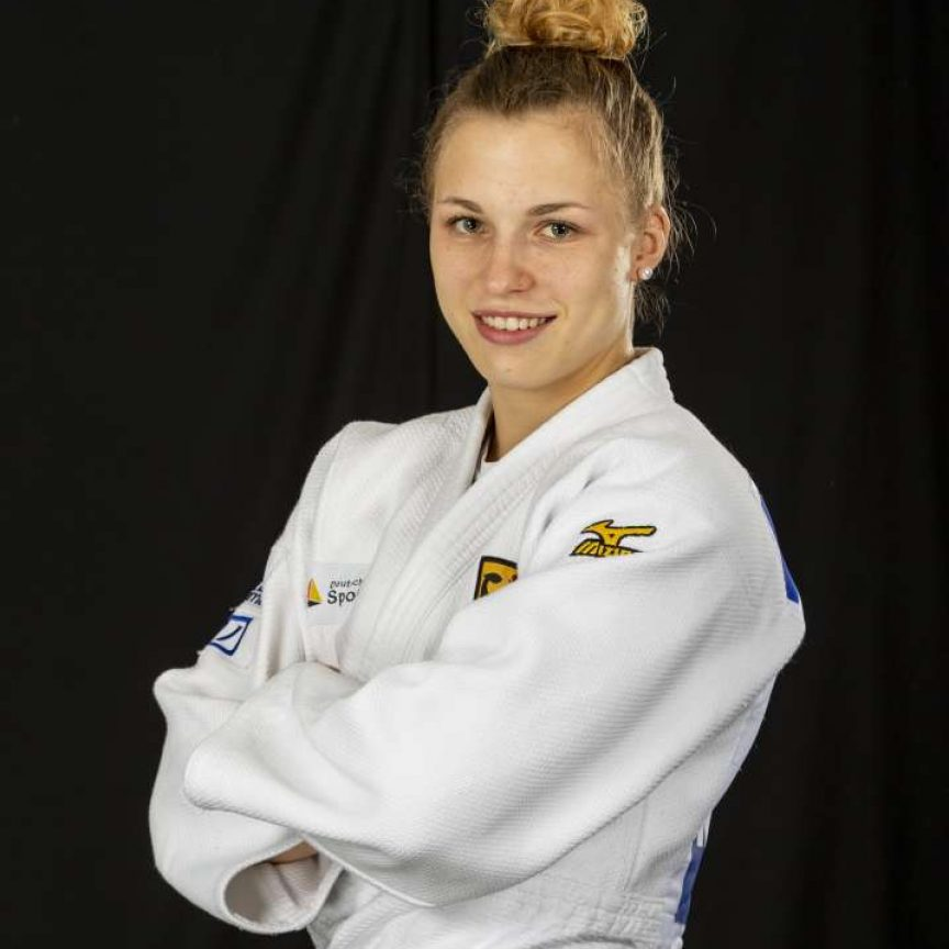 Theresa Stoll - TUM student and judoka - bronze medal winner at the 2020 Olympic Games.